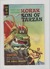 Korak Son Of Tarzan #22 - Jungle Dragon! - 1968 (Grade 7.0) WH