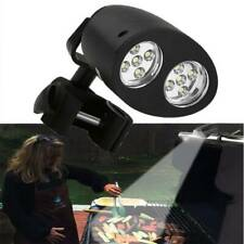 Adjustable 10 LED BBQ Grill Barbecue Light Outdoor Handle Mount Clip Camp Lights