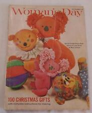 Magazine- Woman's Day November 1963-Christmas Ideas