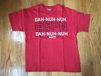 Authentic Champion x ESPN DUH-NUH-NUH DUH-NUH-NUH Shirt Mens Large Sportscenter
