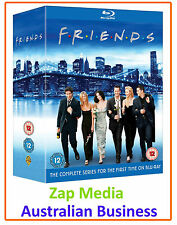 FRIENDS - COMPLETE BLU RAY SERIES 1, 2, 3, 4, 5, 6, 7, 8, 9 & 10 - NEW & SEALED