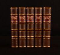 1737 5vol Lettres et Memoires du Baron de Pollnitz Third Ed Memoirs Travels