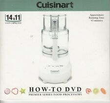 cuisinart savor the good life how-to dvd premier series food processors 14 & 11