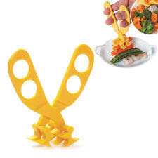 Simple Toddler Baby Portable Scissors Feeding Food Shears Cut Crush Safe Care