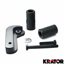 Krator No Cut Frame Sliders Motorcycle Fairing Protectors For 2002 Suzuki GSXR 600