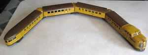 Vintage Lionel Union Pacific 636W City of Denver Streamliner 7 Piece Set