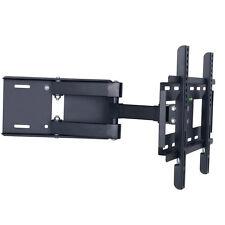 "LCD LED PLASMA 3D TV STAFFA A MURO Slim Tilt Girevole Adatto A 23 "" - 37"""