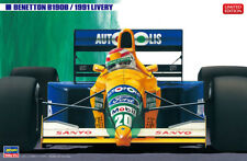 Hasegawa 20356 1/24 Scale Model F1 Car Kit Benetton B190B '91 Moreno/Piquet