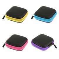 4x Carrying Hard Case Box Headset Earphone Earbud Storage Pouch Bag
