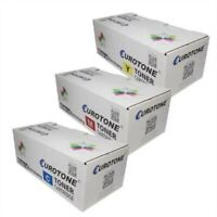 3x Eurotone Eco Cartridge For Oki C-831-N C-841-CDTN C-831-CDTN C-831-DM C-841-N