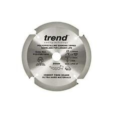 Trend Fibre Cement Saw Blade - PCD - 160mm, 165mm, 190mm