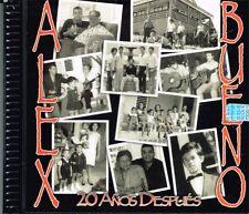 Alex bueno 20 Años despues Vol 1   BRAND NEW SEALED  CD