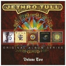 JETHRO TULL 5CD Vol 2 NEW Under Wraps/Crest Knave/Rock Island/Catfish/Roots