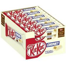 Nestle KitKat Chunky White Kit Kat 40g (36 Bars)