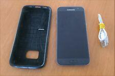 GENUINE SAMSUNG S7 32GB AU UNLOCKED BLACK SMARTPHONE WITH ACCESSORIES