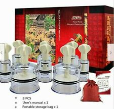 Cupping Therapy Sets Hand Twist Portable Thicken Vacuum Cupping Device Full