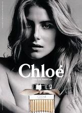 Dree Hemingway 1-pg clipping 2017 ad for Chloe fragrance