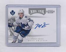 11-12 PANINI CONTENDERS MATT FRATTIN #59 NHL INK AUTOGRAPH SP AUTO