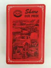 CMC 54 Playing Cards Red Share Our Pride US Union Made