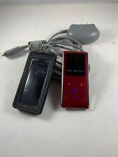 Samsung YP-K3 Red (2 GB) Digital Media Player TESTED WORKS Charger Case Bundle