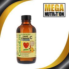 Childlife Liquide Vitamine C Naturel Orange 118.5 ML Système Immunitaire Support