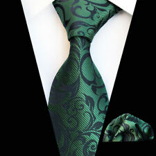 62 Colors Silk Men Necktie Handkerchief Set Men's Pocket Square Neck Tie Sets