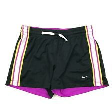 Nike Ad Mujer Negro Pantalón Corto Deportivo S Departament Reversible Ejercicio