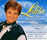 """LOLITA """"IHRE GRÖßTEN ERFOLGE"""" 3 CD BOX NEUWARE"""