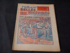 COLLECTION BELLES HISTOIRES DE VAILLANCE N°22 COUVERTURE LE RALLIC