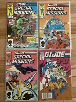 PRIMO:  GI JOE Special Missions #1, 3, 5 & 3-D # 1 lot Marvel comics - Great