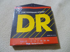 New Sealed The Handmade Guitar String Dr Phr-10 Pure Blues 10 13 17 26 36 46 Set