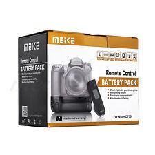 Meike MK-DR750 2.4G Wireless Remote Camera Battery Grip F Nikon DSLR D750 MB-D16