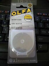Olfa 45mm Endurance Rotary Blade / Cuts Twice as Long as a Regular Blade