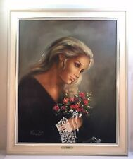 Beautiful Oil Painting Signed By Reneault