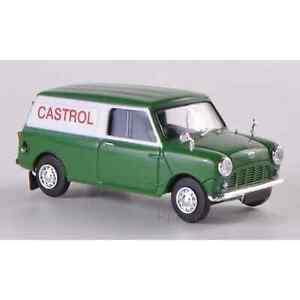 Brekina 15357 1/87 Ho Austin Mini Van Castrol Car Miniature H0