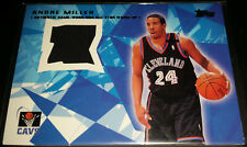 Andre Miller 2001-02 Topps ALL-STAR REMNANT RELICS Game Used Insert Card