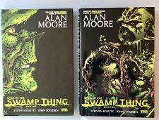 Saga Of The Swamp Thing Books One & Two Hardcover First Printing 2009 Alan Moore