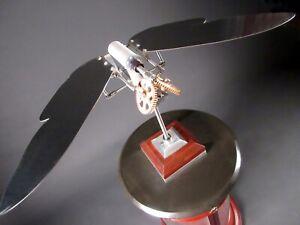 """Greg Stirling - Kinetic Sculpture: """"Tiger Moth"""" 2015 A/P"""