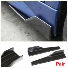 Car Side Skirt Rocker Splitter Anti-scratch Winglet Wing Canard Diffuser Spoiler