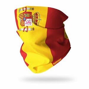Snood Scarf Neckwarmer Neck Gaiter Flag of Spain