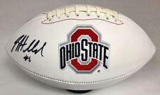 Sam Hubbard Ohio State Buckeyes Signed White Panel Football (OSG COA)