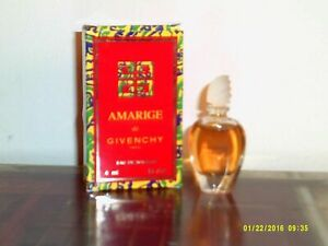 Amarige by Givenchy Women Perfume EDT SPLASH MINI 4 ml New in Box