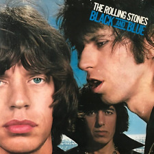 THE ROLLING STONES -  Black And Blue (LP) (VG-/VG)