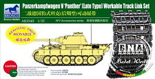 Bronco Model AB3540 Workable Track Set for 1/35 Panther Later Type