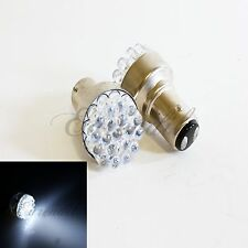 1157 1157A S25 Super White Round 19 LED 2Pc Bulbs #St1 For Park Parking Light