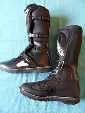 * Acerbis Motocross Boots, Black, ex-demo stock, size EU 44