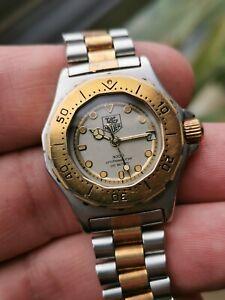 Tag heuer 3000 934.208 Two Tone 18k Gold Plated Swiss Quartz Watch
