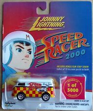 Johnny Lightning Speed Racer VW Bus Van 2000 Rare Mail in only 1 of 5000