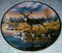FALL'S AWAKENING BY JJ WHITING LIMITED FRANKLIN MINT COLLECTION PLATE