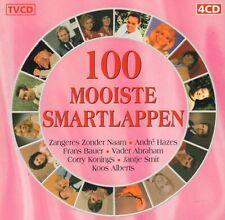 DIVERSE ARTIESTEN - 100 MOOISTE SMARTLAPPEN (4-CD COMPILATIE)